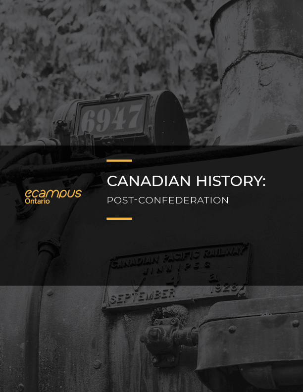 Cover image for Canadian History: Post-Confederation