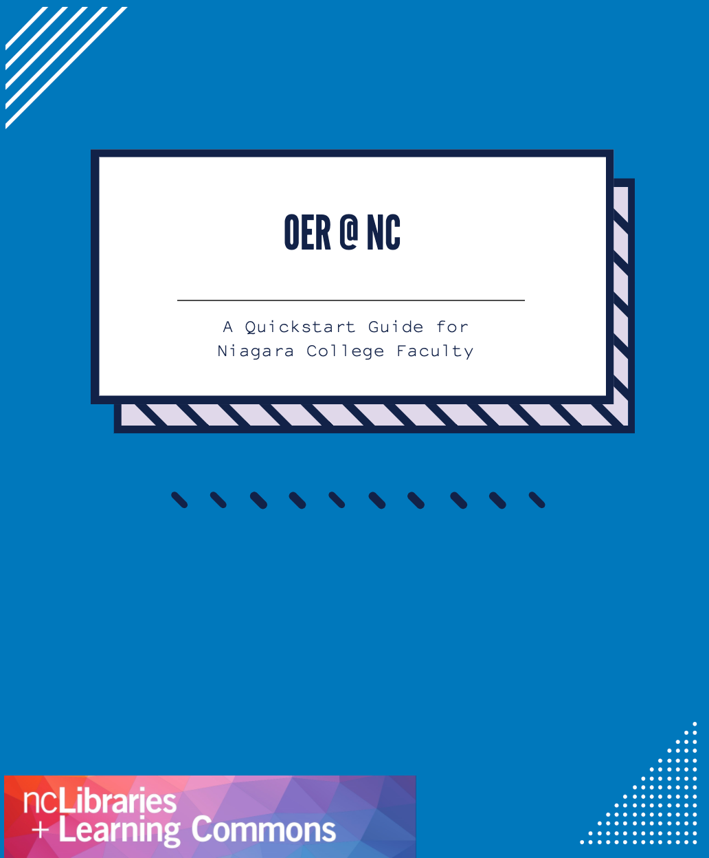 Cover image for OER @ Niagara College: A Quickstart Guide for Faculty