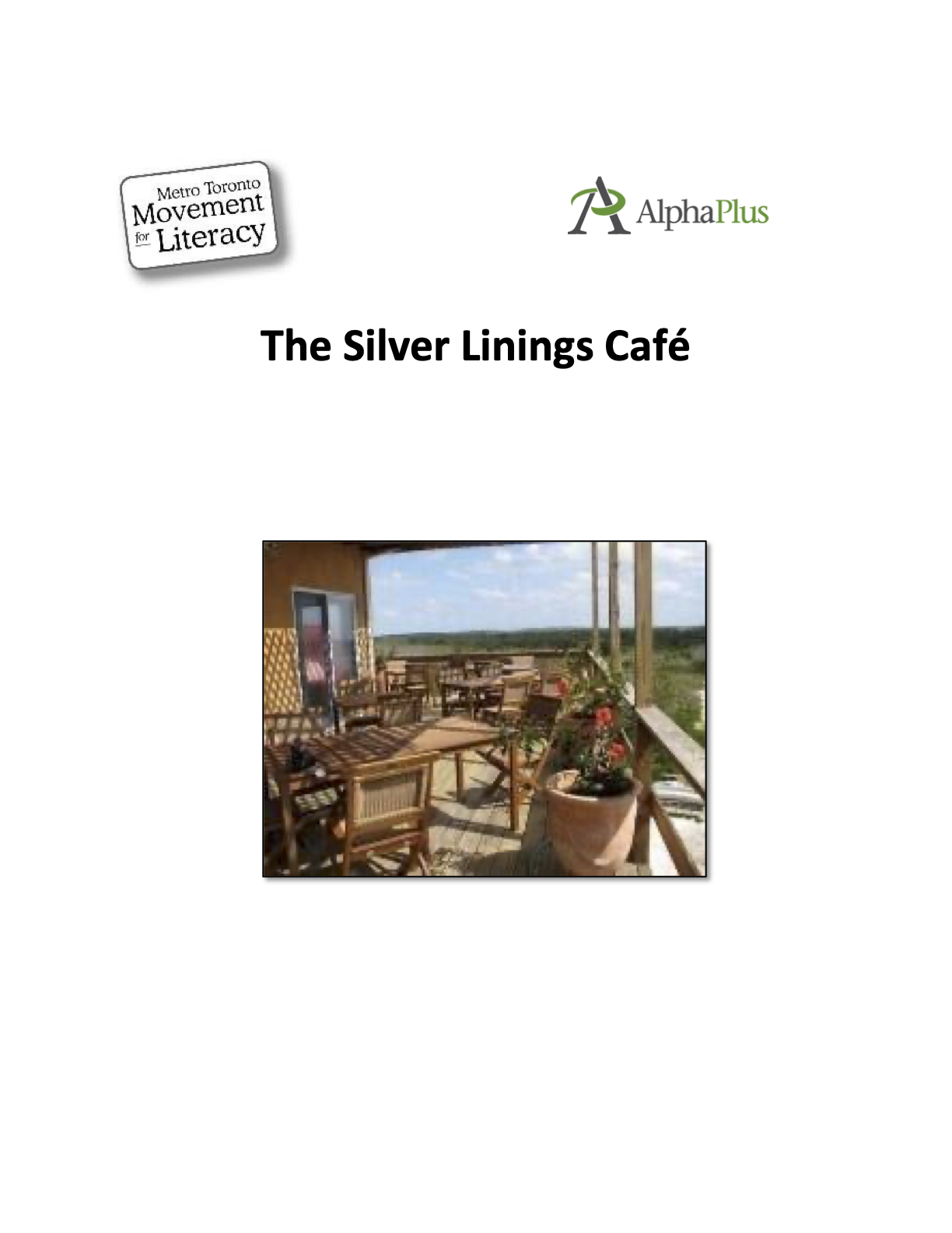 Cover image for The Silver Lining Café and Zoom Tools