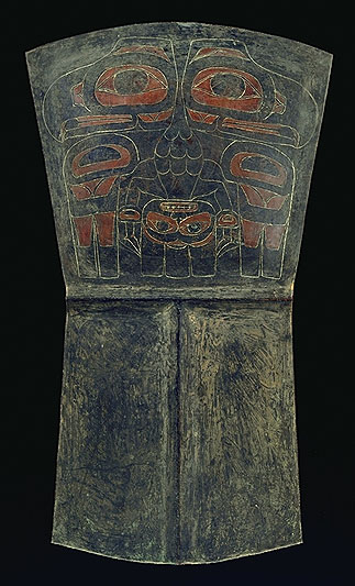Haida Nation copper plate. Credits to: Canadian Museum of History Archives (CC BY-NC 2.0) [28]