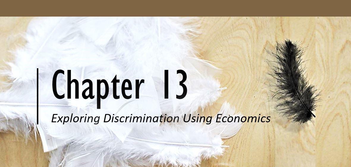 Chapter 13 Exploring Discrimination Using Economics