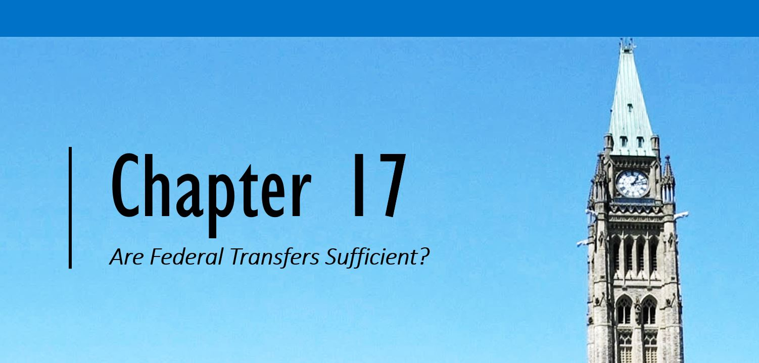 Chapter 17 Header (background of blue sky and tower of the parliament building)