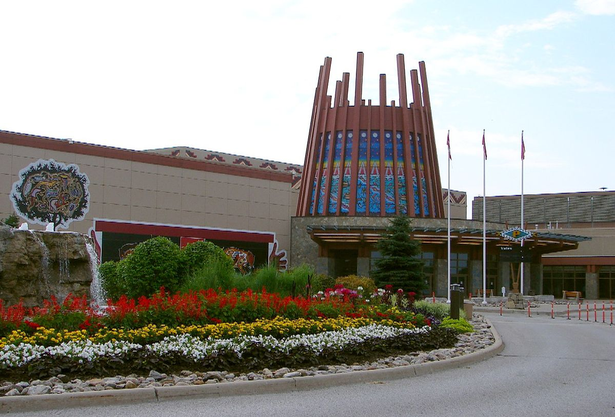 Casino Rama, Mnjikaning First Nation Reserve, Ontario, Canada. Photo by: P199