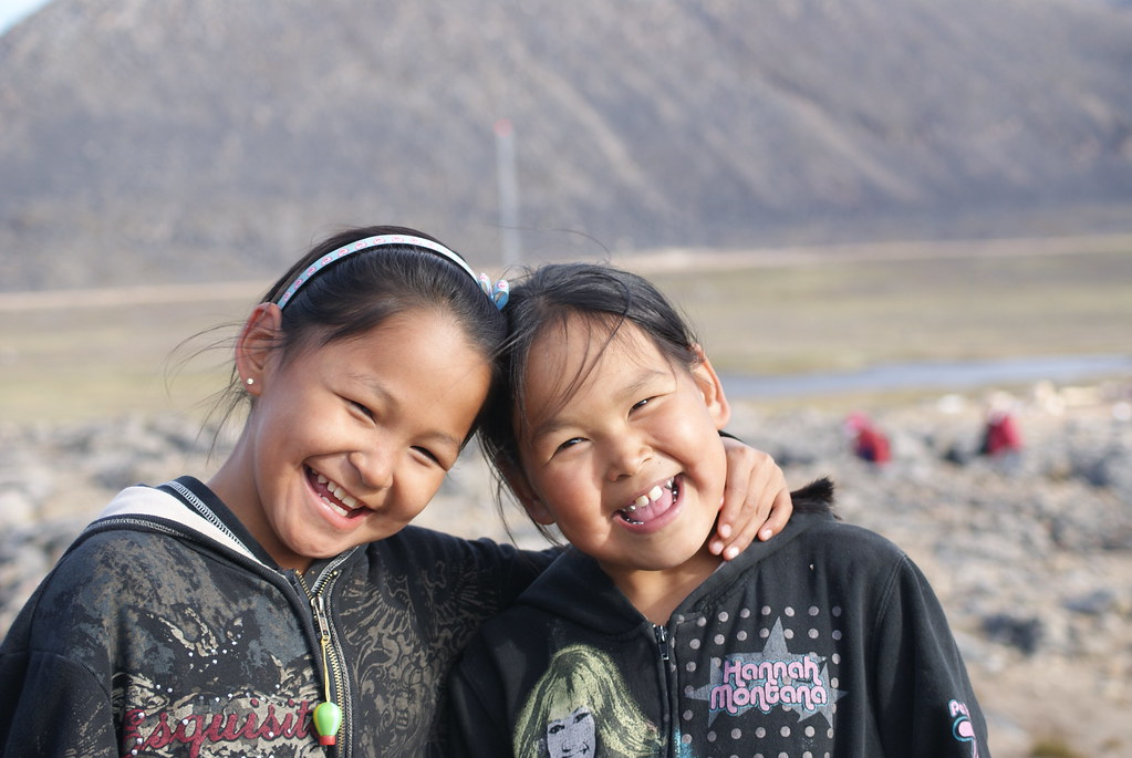 """Inuit Girls"". Credits to: susanvg(CC BY-NC-SA 2.0) [171]"