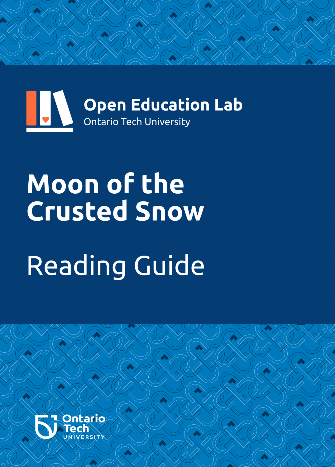Cover image for Moon of the Crusted Snow: Reading Guide