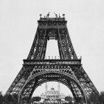 Tour Eiffel : Montage de la deuxième plateforme (21 août 1888)