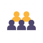icon of five generic people