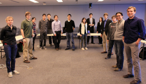 photo of a group of learners in a classroom ready for instructions