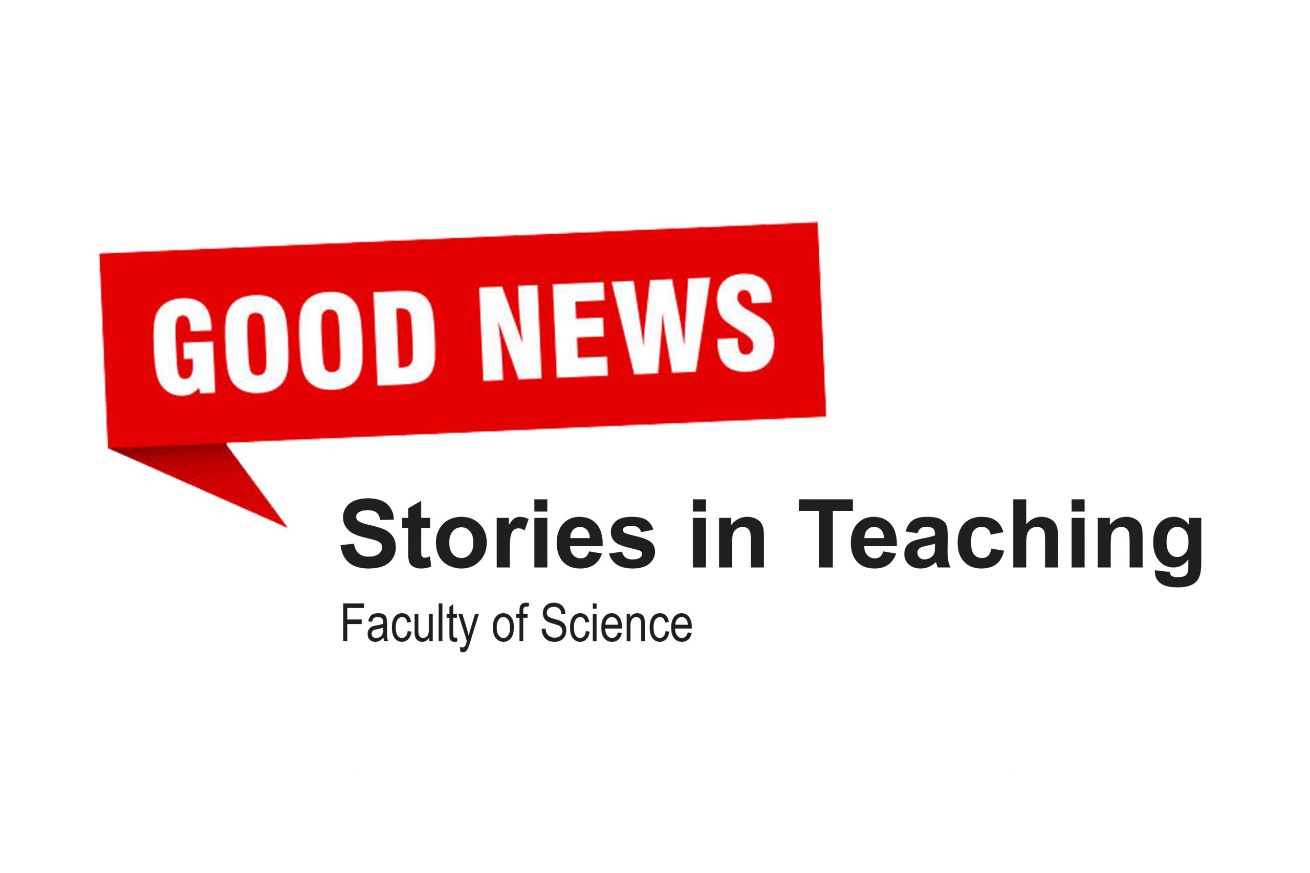 Cover image for Good News Stories in Online Teaching in the Faculty of Science