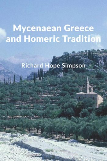 Cover image for Mycenaean Greece and Homeric Tradition