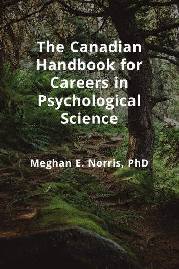 Cover image for The Canadian Handbook for Careers in Psychological Science