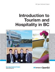 The cover image for Introduction to Tourism and Hospitality in BC