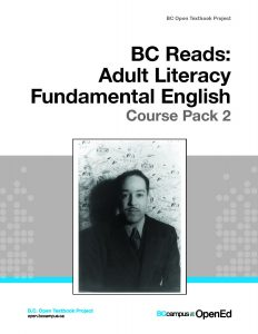 The cover image for BC Reads: Adult Literacy Fundamentals