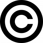 One C in a circle