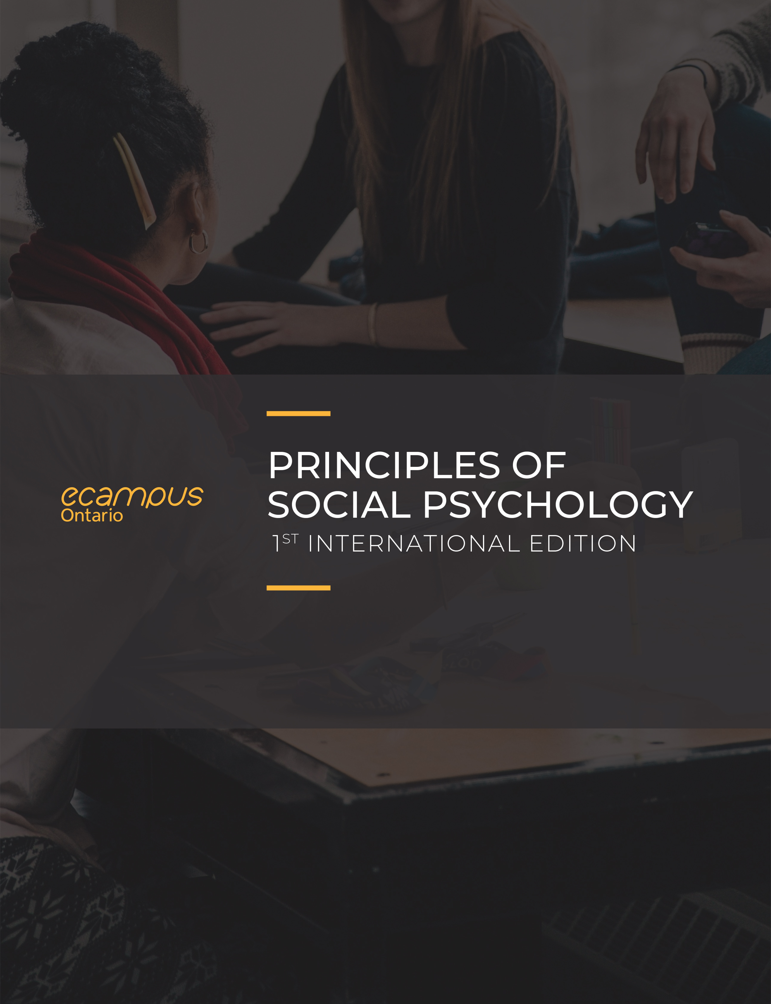 Cover image for Principles of Social Psychology - 1st International Edition