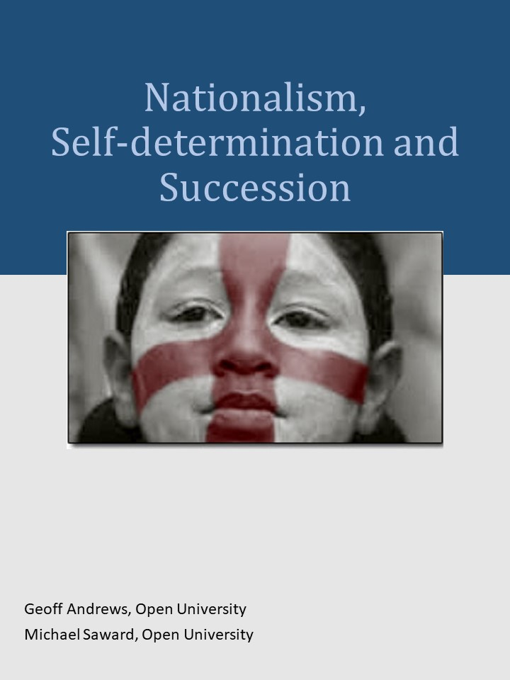 Cover image for Nationalism, Self-determination and Secession