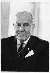 A Photograph of Raymond Dart