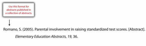 Romano, S. (2005). Parental involvement in raising standardized test scores. [Abstract]. Elementary Education Abstracts, 19, 36.