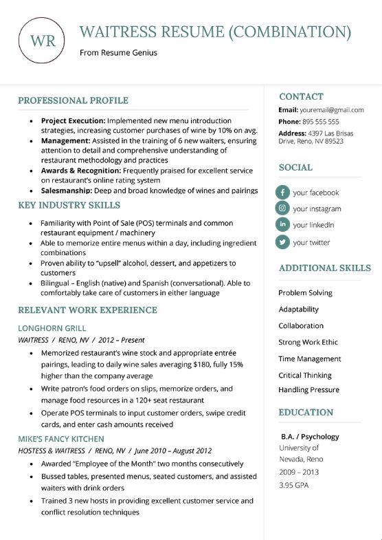 resumes and cover letters  sample chapter   u2013 writing in