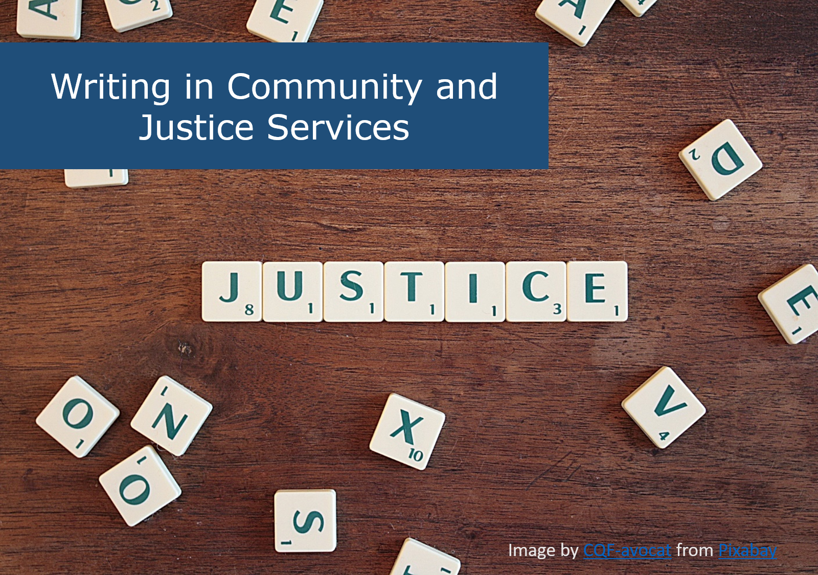 Cover image for Writing in Community and Justice Services