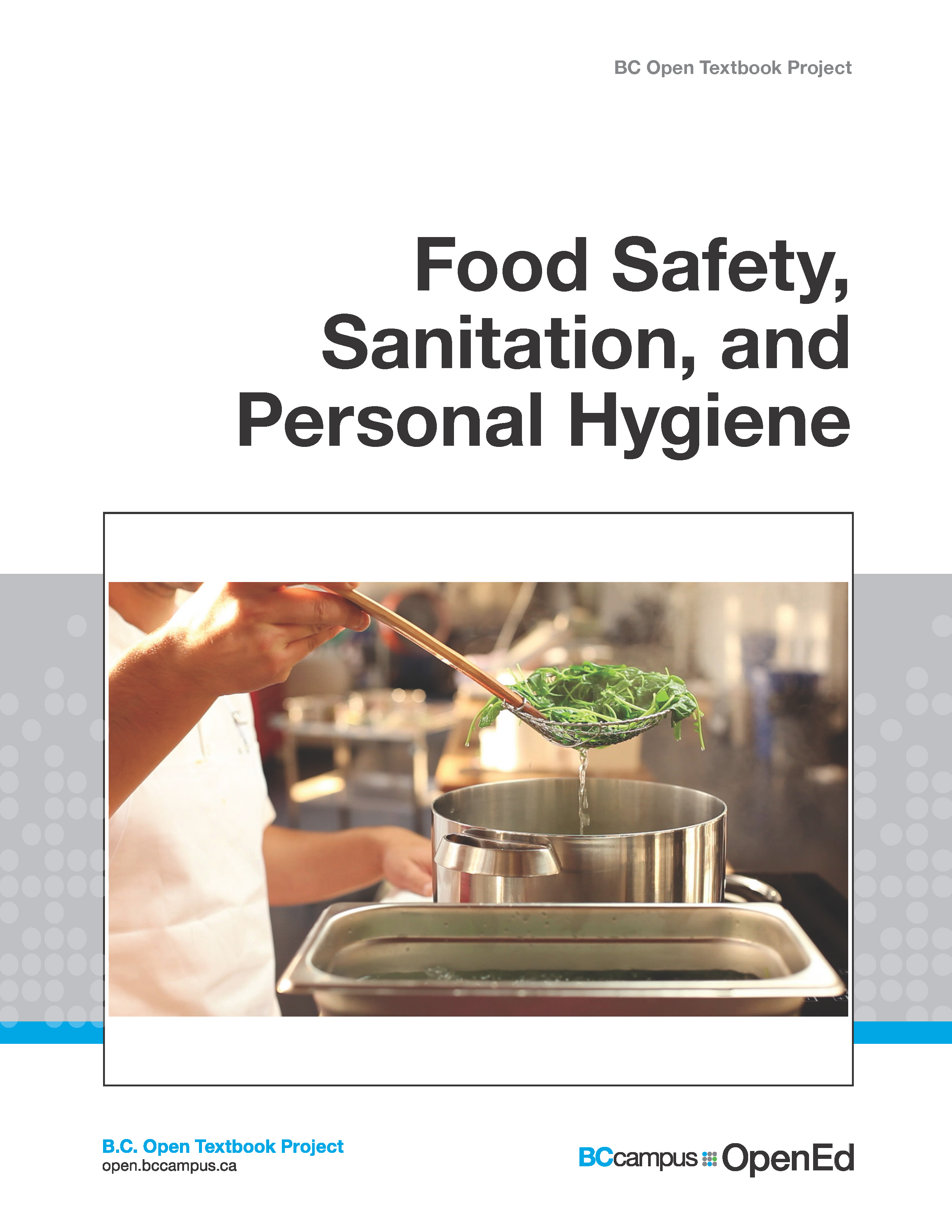 Cover image for Food Safety, Sanitation, and Personal Hygiene