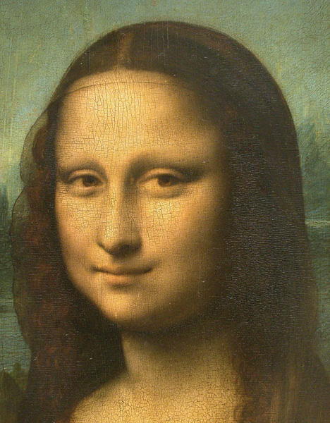 Mona Lisa's Smile painting