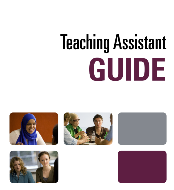 Cover image for McMaster Teaching Assistant Guide