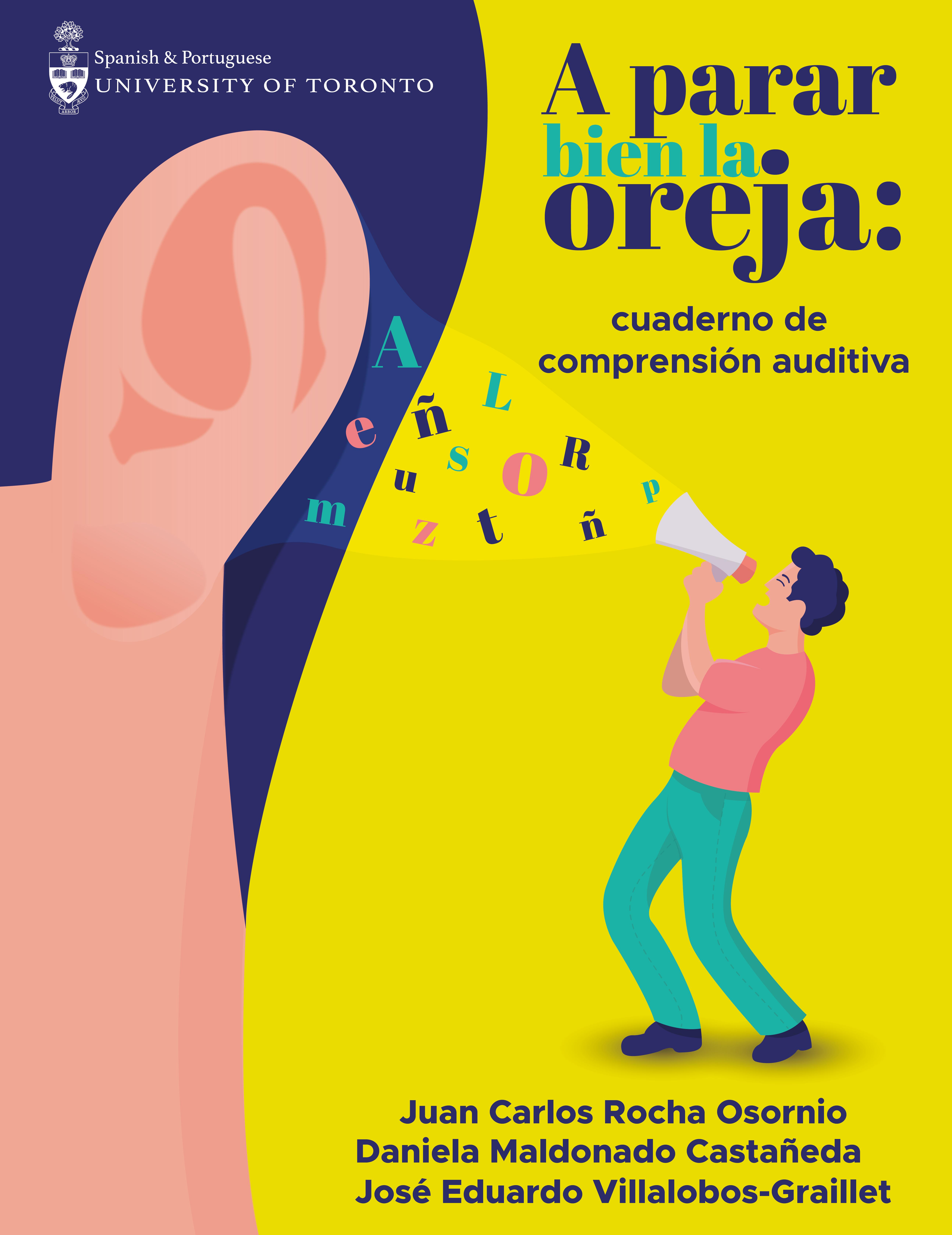 Imagen de cubierta por A parar bien la oreja: cuaderno de comprensión auditiva