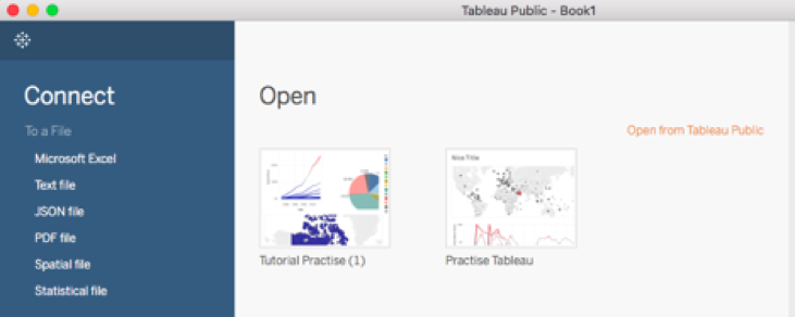 Visualizing Your Data with Tableau – Cases and Tools in