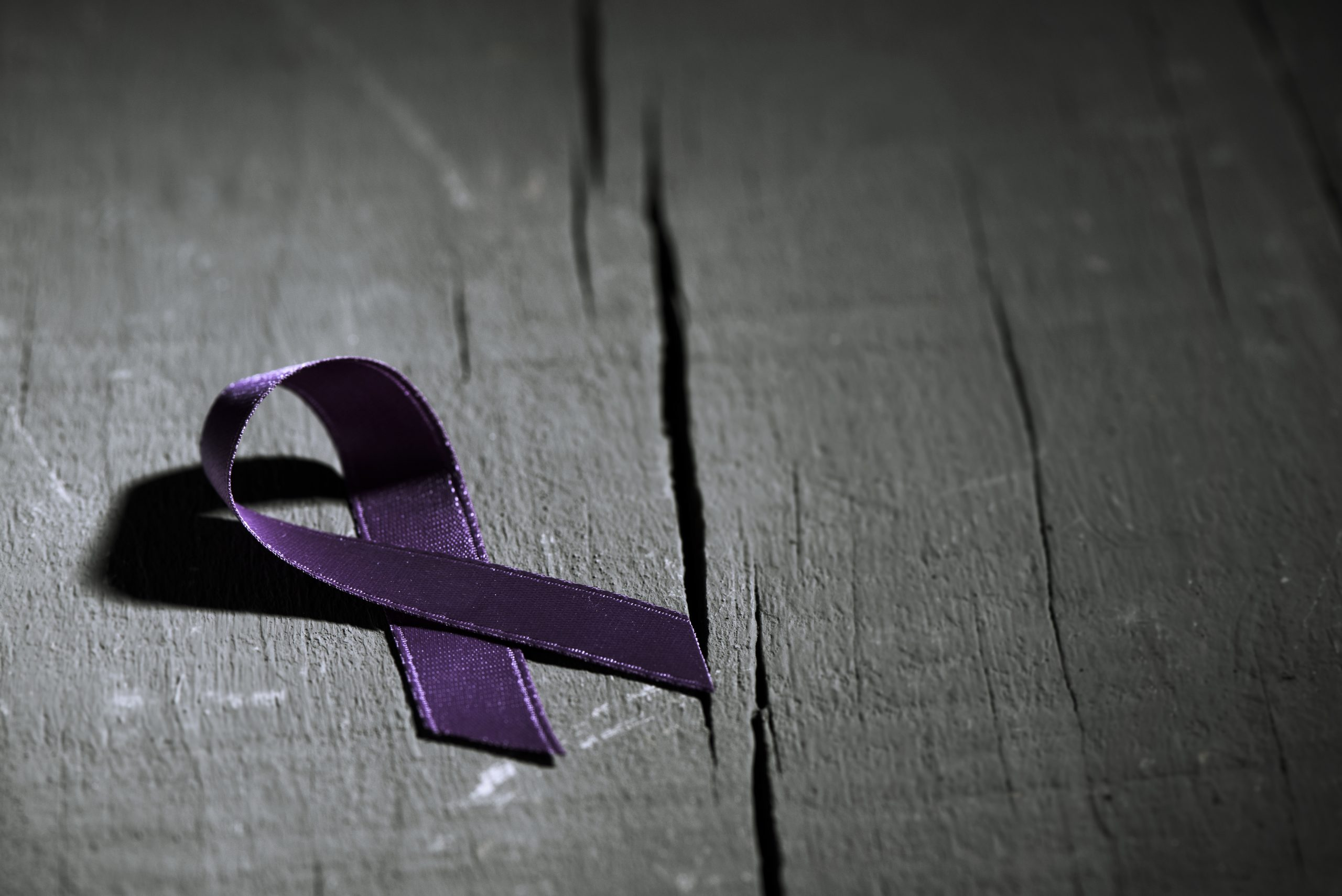 There is a purple domestic violence ribbon which is a direct symbol for domestic violence