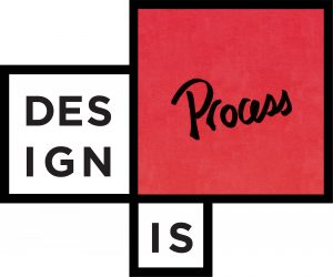 Illustration that reads Design is Process