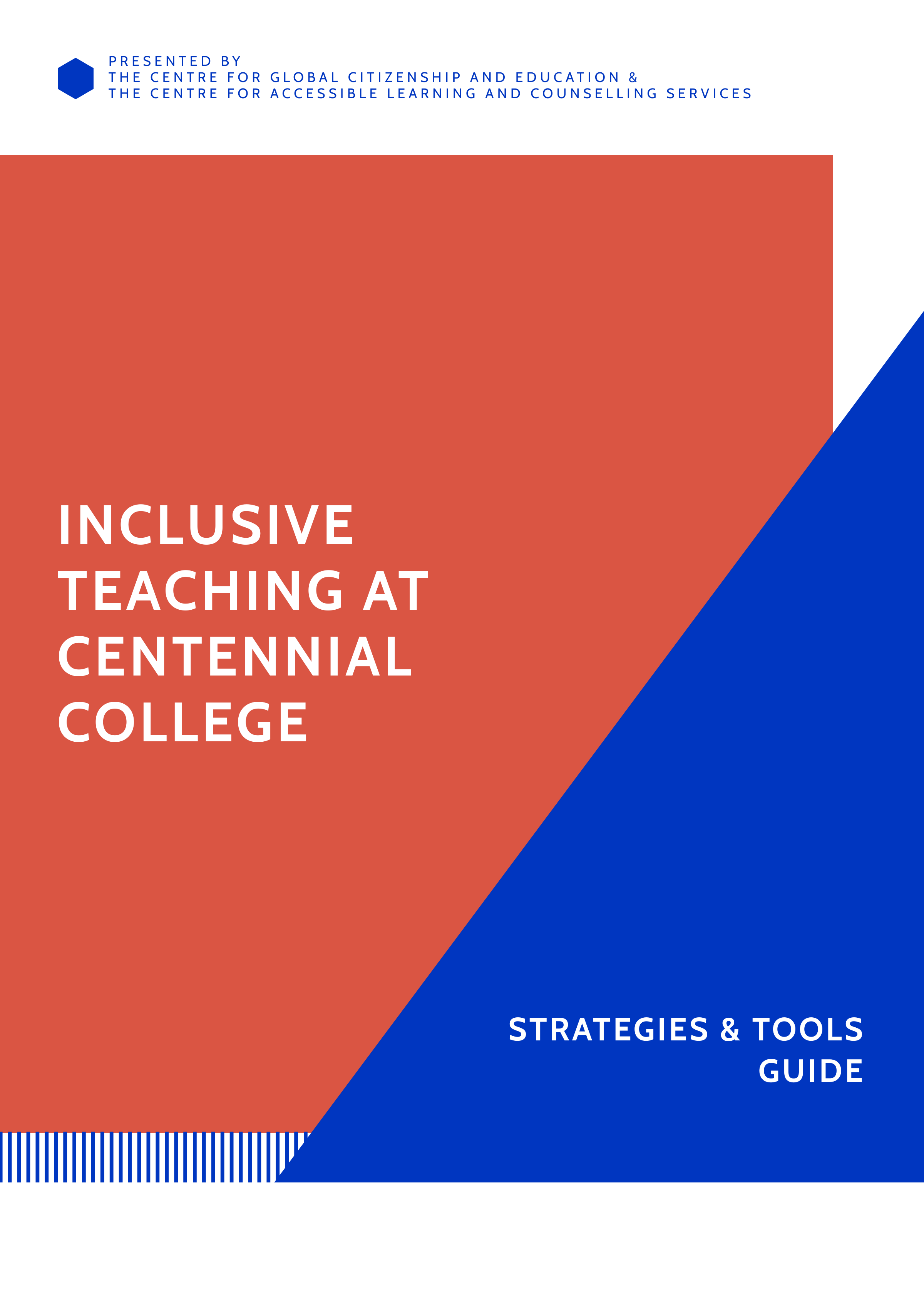 Cover image for Inclusive Teaching at Centennial College