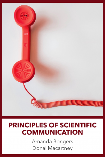 Cover image for Principles of Scientific Communication