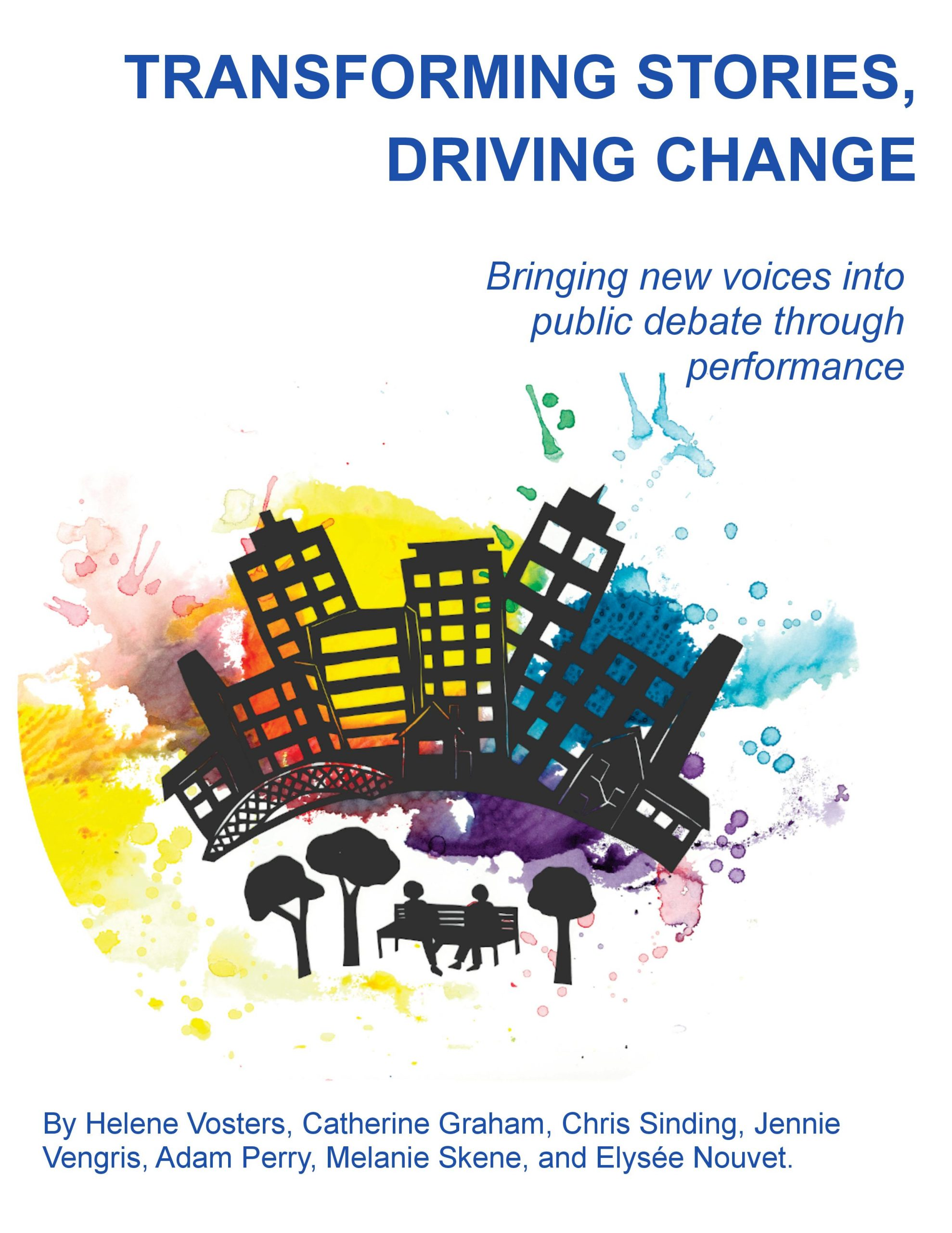 Cover image for Transforming Stories, Driving Change